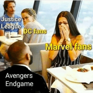 Dank, Memes, and Target: Justice  League  DC fans  Avengers  Endgame Truely the best marvel movie. by krishi2202 MORE MEMES