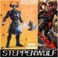 """What do you think of SteppenWolf's New Look for the DCEU ? - I can't wait to see what he looks like in Live Action rather than a Toy. 😍 But I'm so glad they made him more Human Like since he's being played by CiaranHinds instead of a giant CGI """"Lord of the Rings Monster"""" we saw in the deleted scene from … BatmanVSuperman. 🙄👏🏽 Can't wait for the JusticeLeague Trailer this Saturday at SDCC2017 ! DCExtendedUniverse 💥 JL SanDiegoComicCon SDCC ComicCon: JUSTICE LEAGUE  IG @DC MARVEL.UNITE  6  4  NEW  LOOK!  NOM  STEPPENIWOLF What do you think of SteppenWolf's New Look for the DCEU ? - I can't wait to see what he looks like in Live Action rather than a Toy. 😍 But I'm so glad they made him more Human Like since he's being played by CiaranHinds instead of a giant CGI """"Lord of the Rings Monster"""" we saw in the deleted scene from … BatmanVSuperman. 🙄👏🏽 Can't wait for the JusticeLeague Trailer this Saturday at SDCC2017 ! DCExtendedUniverse 💥 JL SanDiegoComicCon SDCC ComicCon"""