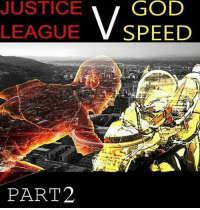 JUSTICE LEAGUE SPEED PART2 SupermanHe Always Does thisFollows Barry