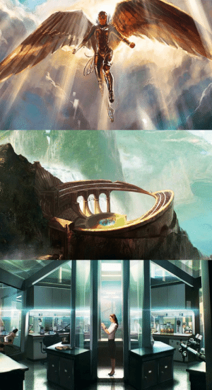 justiceleague:  New concept art for Wonder Woman 1984: justiceleague:  New concept art for Wonder Woman 1984