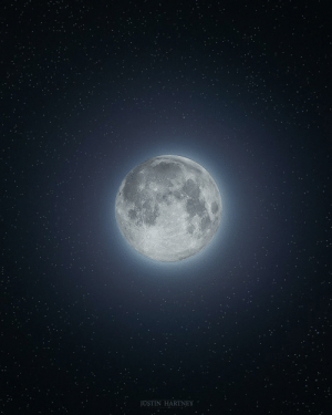 Tumblr, Blog, and Equinox: JUSTIN HARTNEY space-pics:  Super Moon on the Spring Equinox [OC]