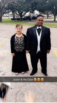 "Memes, Twitter, and Date: Justin & His Date ""Please help lyn brother and his date go viral!"" (Twitter user: @Thatguyjigg)  Don't they look amazing?! 🙏🏼"