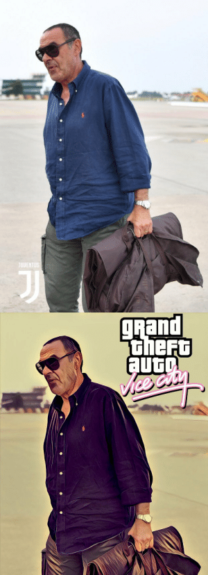 Maurizio Sarri is a GTA loading screen. (📷: @Matt_Santangelo ) https://t.co/xRYa4BdIiI: JUVENTUS  alle   pueti  thefu  aut  Vice catn Maurizio Sarri is a GTA loading screen. (📷: @Matt_Santangelo ) https://t.co/xRYa4BdIiI