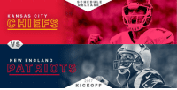 The @Chiefs. The @Patriots. In Foxboro. 9/7/2017.   The first game of the 2017 season! #Kickoff2017 #NFLSchedule https://t.co/vw1C8syZUO: K A N S A S CITY  (C HIDE FS  VS  NEW ENGLAND  PATRIOT  SCHEDULE  RELEASE  2017  KICKOFF The @Chiefs. The @Patriots. In Foxboro. 9/7/2017.   The first game of the 2017 season! #Kickoff2017 #NFLSchedule https://t.co/vw1C8syZUO