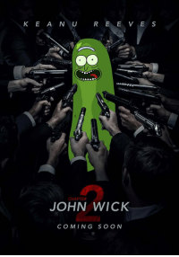 John Wick, Wick, and Chapter: K E A N U  R E E V E S  CHAPTER  JOHN WICK  COMING S O ON