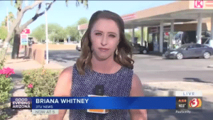 News, Tumblr, and Arizona: K  LIVE  GOOD  EVENING  ARIZONA  3)  BRIANA WHITNEY  4:59  103  3TV NEWS  NOW AT 5  winonaryd-or-die:  blackqueerblog:    Elijah El Amin💔 SAY HIS NAME!     Didn't realize being a racist fuck was a disability