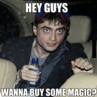 HARRY POTTER GOES TO HIS FIRST EDM SHOW.: HEY GUYS  WANNA BUY SOME MAGIca HARRY POTTER GOES TO HIS FIRST EDM SHOW.