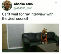 """Petite fake tanned amateur teen gets a job interview""  Posted by Curtis Miller in ""Just Jedi Memes"": ka Tano  @Ahsoka_Tano  Can't wait for my interview with  the Jedi council ""Petite fake tanned amateur teen gets a job interview""  Posted by Curtis Miller in ""Just Jedi Memes"""