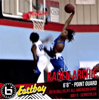 """Looking forward to having @KadenArchie in the Ballislife All-American Game!  Stay locked on Ballislife for the rest of the roster release! #BILAAG https://t.co/69LnFGOYlB: KADEN ARCHIE  6'6"""" - POINT GUARD  2018 BALLISLIFE ALL AMERICAN GAME  MAY 5-CERRITOS,CA Looking forward to having @KadenArchie in the Ballislife All-American Game!  Stay locked on Ballislife for the rest of the roster release! #BILAAG https://t.co/69LnFGOYlB"""