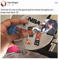 "Android, Ass, and Bitch: Kae Mcgee  1 hr e  Told him it's me or the game and he chose the game so l  broke that bitch 199  ⓗkollege A bitch would need the 7 holy timbs from the chamber of New York niggas to bring her back. Im dunking on this bitch like I'm a slashing slashing small forward with a maxed out dunk and hall of fame posterizer with contact finish. This bitch will get her ankles snapped like a twig. Cross over so vicious she gonna collapse like the towers. No nigga deserve to go through this. I'm dropping 50 on hall of fame on her ass. I'm not talking about points nigga. I'm talking a 50 piece tekken combo. I'm sending this bitch to the land of nevercomeback. No way she could justify this. He made the right choice and she made her death wish. 2k to niggas is like balls to dick. Skin to flesh. Fish to water. Ass to crack. Sun to sky. Kyrie on the cover he a snake but still bruh damn she couldn't do that to the 2k with KD on it? Im petty im fucking up all her makeup. This is a justifiable reason to go out and cheat. Muhammad on the tv like ""Nigga what"" he ready to blow up on a bitch. She would end up like Android 19 word to VEGETA"