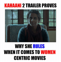 Memes, Movies, and Movie: KAHAANI 2 TRAILER PROVES  WHY SHE  RULES  WHENIT COMES TO WOMEN  CENTRIC MOVIES Vidya Balan <3