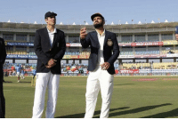 India vs England: 2nd Test - VIZAG  India Won The Toss And Elect To Bat First   Lokesh Rahul replaces Gautam Gambhir and Debutant Jayant Yadav replaces Amit Mishra   James Anderson is back in the England XI, Chris Woakes - OUT: Kalaria Kajaria  Naj  Kalaria Kalaria Kajar, India vs England: 2nd Test - VIZAG  India Won The Toss And Elect To Bat First   Lokesh Rahul replaces Gautam Gambhir and Debutant Jayant Yadav replaces Amit Mishra   James Anderson is back in the England XI, Chris Woakes - OUT
