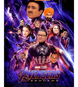 After taking over Pewdiepie, Indians decided to take over avengers. We are in thr Endgame now.: kalash vora  MARVEL STUDIOS  AVENGERS  END GAM E After taking over Pewdiepie, Indians decided to take over avengers. We are in thr Endgame now.