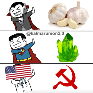 Hammer and sickle bad: @kalmarunion2.0 Hammer and sickle bad