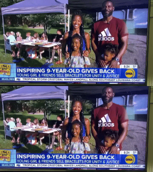 KAMRYN!!!! Uncle Spice loves you!! Good job Shani & @3ronjohnson Thanks for raising money and helping communities & families in Minnesota!! Thank you to @RobinRoberts & @GMA for giving $10K for the cause! 🙌🏾  Donate. https://t.co/xpXktwCkBr https://t.co/uM8YXgZqXB: KAMRYN!!!! Uncle Spice loves you!! Good job Shani & @3ronjohnson Thanks for raising money and helping communities & families in Minnesota!! Thank you to @RobinRoberts & @GMA for giving $10K for the cause! 🙌🏾  Donate. https://t.co/xpXktwCkBr https://t.co/uM8YXgZqXB