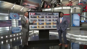 The @Chiefs will win ____ games in 2019. 🤔   @LT_21 goes game-by-game! (via @NFLTotalAccess) https://t.co/5mbGmIeO4G: KANSAS CITY CHIEFS  SCHEDULE  0-0  TOTAL  BYE WEEK 12.  OTOTAL  NE ACCESS The @Chiefs will win ____ games in 2019. 🤔   @LT_21 goes game-by-game! (via @NFLTotalAccess) https://t.co/5mbGmIeO4G
