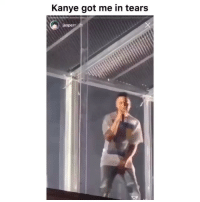 Funny, Kanye, and Wtf: Kanye got me in tears  jasperr 2h Wtf clip of the day😂💀