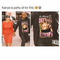 Damn kanye: Kanye is petty af for this  1989 TO 2016 Damn kanye