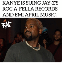 Kanye West is suing Roc-A-Fella records and EMI for money that he believes he is owed.⁣ -⁣ 2 lawsuits were filed by Kanye West yesterday, the first one is against Jay Z's record company 'Roc-A-Fella'. The lawsuit basically stated that he's asking for a declaration of his rights over a dispute he's having and he wants money that is owed to him.⁣ -⁣ The second lawsuit is against EMI. The documents were edited but it does say there is a dispute and he wants a judge to declare his rights under the contract, presumably for money.⁣ -⁣ Kanye has hired Quinn Emanuel Urquhart & Sullivanto, who's known to be the most powerful firms in the country, to represent him in court.⁣ -⁣ RapTVSTAFF: @thatkidcm⁣ @eyekon_photography⁣: KANYE IS SUING JAY-ZS  ROC-A-FELLA RECORDS  AND EMI APRIL MUSIC  KAT Kanye West is suing Roc-A-Fella records and EMI for money that he believes he is owed.⁣ -⁣ 2 lawsuits were filed by Kanye West yesterday, the first one is against Jay Z's record company 'Roc-A-Fella'. The lawsuit basically stated that he's asking for a declaration of his rights over a dispute he's having and he wants money that is owed to him.⁣ -⁣ The second lawsuit is against EMI. The documents were edited but it does say there is a dispute and he wants a judge to declare his rights under the contract, presumably for money.⁣ -⁣ Kanye has hired Quinn Emanuel Urquhart & Sullivanto, who's known to be the most powerful firms in the country, to represent him in court.⁣ -⁣ RapTVSTAFF: @thatkidcm⁣ @eyekon_photography⁣
