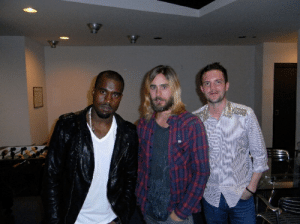 Kanye, Jared Leto and Brandon Flowers from 2010: Kanye, Jared Leto and Brandon Flowers from 2010