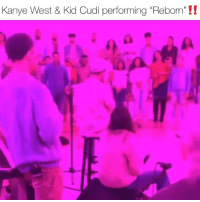 "kidsseeghosts duo kanyewest & kidcudi getting ready to go on tour with a whole choir‼️ how's it sounding⁉️ Follow @bars for more ➡️ DM 5 FRIENDS: Kanye West & Kid Cudi performing ""Reborn'""!! kidsseeghosts duo kanyewest & kidcudi getting ready to go on tour with a whole choir‼️ how's it sounding⁉️ Follow @bars for more ➡️ DM 5 FRIENDS"