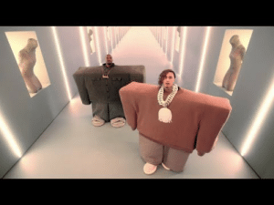 Adele, Dank, and Kanye: Kanye West  Lil Pump ft. Adele Givens - I Love It (Official Music Video) by MGLLN MORE MEMES
