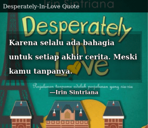 irin sintriana desperately in love