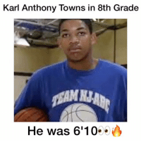 Karl Anthony Towns 8th Grade workout video😈👀🔥 Who is better Curry or KD? 🤔 Comment below! 👇 - Follow @Sportzmixes For More! 🏀 - @athleticsplays love dubai lol funny doubletap cute crazy cool food sad fashion: Karl Anthony Towns in 8th Grade  He was 6'10 Karl Anthony Towns 8th Grade workout video😈👀🔥 Who is better Curry or KD? 🤔 Comment below! 👇 - Follow @Sportzmixes For More! 🏀 - @athleticsplays love dubai lol funny doubletap cute crazy cool food sad fashion
