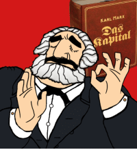KARL MARX  Dns  -0 When you criticise capitalism just right