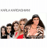 "Comment ""KARLA"" letter by letter without getting interrupted 😂👀: KARLA KARDASHIAN!  tube  IGI@kardashiianrelate Comment ""KARLA"" letter by letter without getting interrupted 😂👀"