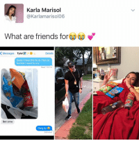 "@KendallJenner: ""I follow @kalesalad and u should too"".: Karla Marisol  @Karlamarisol06  What are friends for  K Messages  Tyler  Details  Dude I have the flu & Ifeel so  terrible l want to cry  Read 7:48 PM  Bet omw  omg ily @KendallJenner: ""I follow @kalesalad and u should too""."