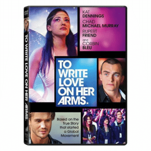 twloha:  The#TWLOHAmoviewill be available March 3 on DVD & Digital HD!! You can preorder now.store.twloha.com : KAT  DENNINGS  DVD  CHAD  MICHAEL MURRAY  RUPERT  FRIEND  and  CORBIN  BLEU  TO  WRITE  LOVE  ON HER  ARMS.  Based on the  True Story  that started  a Global  Movement  SA  TO WRITE LOVE  ON HER ARMS. twloha:  The#TWLOHAmoviewill be available March 3 on DVD & Digital HD!! You can preorder now.store.twloha.com
