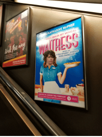 sara bareilles: KATHARINE McPHEE  WAY'S SMASH HIT MUSICAL  MUSIC BY  6-TIME GRAMMY NOMN  SARA BAREILLES  ARRIVES IN LONDON THIS FEBRUARY  Book your tickets today at waitressthemusical