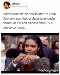 Love yourself. Stan Shinee . . . . Credit to owner✌: kathryn  @blackandbolly  Onew is one of the best leaders in kpop.  No major scandals or departures under  his tenure. No anti blkness either. But  please continue.  PicPlayPost Love yourself. Stan Shinee . . . . Credit to owner✌