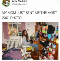 Creepy, Funny, and Mom: Katie Tiedrich  @katietiedrich  MY MOM JUST SENT ME THE MOST  2001 PHOTO I start feeling all nostalgic when I look at @bonkers4memes posts ~~~ creepy crawlers -- ez bake ovn~~~