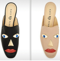 Katy Perry's shoe that is under scrutiny for resembling blackface is about to be yanked. Thoughts? tmz katyperry shoes fashion: KATY PERR  K ATYPERR Katy Perry's shoe that is under scrutiny for resembling blackface is about to be yanked. Thoughts? tmz katyperry shoes fashion