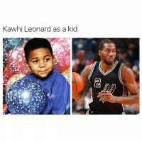 ••• DoubleTap if Kawhi doesn't get enough hype 🔥: Kawhi Leonard as a kid ••• DoubleTap if Kawhi doesn't get enough hype 🔥
