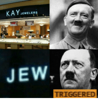 Trigger: KAY JEWELERS  JEW.  TRIGGERED  ご  蓊 Trigger
