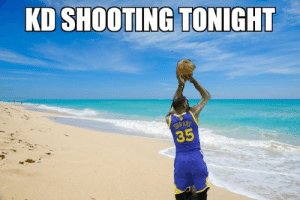 Memphis Grizzlies, Memes, and Game: KD SHOOTING TONIGHT  35 KD couldn't miss tonight!!! He shot 12/13 for 28 points and the Warriors pulled away from the Grizzlies, 118-103. Steph also dropped 28 of his own. Nice all around game