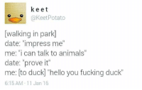 To Duck