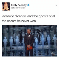 Go follow @notjustahoe we're so close to 3k and the account just really needs more love: keely flaherty  o  @flaherty keely  leonardo dicaprio, and the ghosts of all  the Oscars he never won Go follow @notjustahoe we're so close to 3k and the account just really needs more love