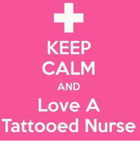 Keep calm and love a tattooed nurse nurse tattoo tatts nurselife supernurse registerednurse doctors loveanurse nursesweek nursing rn: KEEP  CALM  AND  Love A  Tattooed Nurse Keep calm and love a tattooed nurse nurse tattoo tatts nurselife supernurse registerednurse doctors loveanurse nursesweek nursing rn
