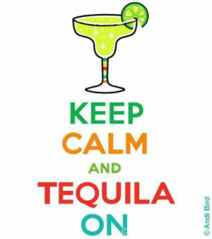 25 Margarita Memes & Tequila Quotes To Help You Celebrate National Margarita Day: KEEP  CALM  AND  TEQUILA  ON  2 25 Margarita Memes & Tequila Quotes To Help You Celebrate National Margarita Day