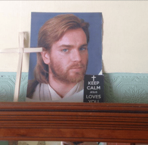 Jesus, Keep Calm, and You: KEEP  CALM  JESUS  LOVES  YOU Wait a second