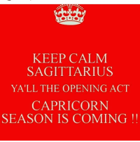 Birthday is coming up! Don't hesitate anymore and visit https://zodiacthing.com/store/capricorn to shop exclusively designed Capricorn products: KEEP CALM  SAGITTARIUS  YALL THE OPENING ACT  CAPRICORN  SEASON IS COMING! Birthday is coming up! Don't hesitate anymore and visit https://zodiacthing.com/store/capricorn to shop exclusively designed Capricorn products