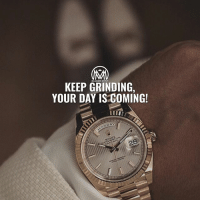 Clock, Disappointed, and Fresh: KEEP GRINDING  YOUR DAY IS COMING! Keep grinding, even if you don't feel like it! No matter what kind of work you do, you'll always have days you don't feel motivated. Running a business is exciting and challenging, but also boring and mundane sometimes. It's human nature to get distracted, frustrated and disappointed now and then. The key is knowing how to get back on track so your business doesn't suffer. 🤔 ✔️Make a schedule. Not reporting to an office every day or punching a clock can be an amazing thing. It also can pose a tremendous challenge. You can wake up when you want, take breaks when you want, eat when you want and stop working when you want. With so much autonomy, it's important to discipline yourself by setting a daily schedule. That's key! ✔️Take breaks throughout the day. Design your daily schedule with short breaks in mind. Limit each to 10 or 20 minutes, or you risk getting swept into a sucking hole of unproductivity. These breaks are particularly helpful if you're struggling with a problem. Take a step back, focus on something else, and come back with fresh eyes. Consider taking a quick walk outside or engaging in some other form of activity. Get a glass of water, meditate or surf social media to shift your mindset. ✔️Take advantage of flexibility. Nowhere is it written that you have to stare at a computer screen in your own home or workspace every day. Try changing it up: Work from a coffee house one day, a library the next and a park the day after that. Changing your scenery will keep you on your toes and might even pique your creativity. ✔️Think about the future. You set goals when you first started your business, and you know you must continue to adapt those objectives as time goes on. If you feel yourself procrastinating or getting distracted, ask yourself how meeting those goals will affect your future. Where do you want your business to be in six months, a year, or five years? How will your daily work help you achieve your ambitions? And how much better will your personal and professional life be once you reach each milestone? KEEP grinding! Your time will come. - success grind millionairementor