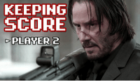 You asked for it, so here it is. Sometimes you just have to merge John Wick and 8-bit shooting games.: KEEPING  SCORE  PLANTER 2 You asked for it, so here it is. Sometimes you just have to merge John Wick and 8-bit shooting games.