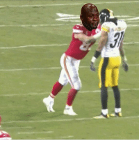 Memes, The Ref, and 🤖: Kelce got scared of Mike Mitchells footsteps and dropped the ball, but he wants to blame the refs for the loss. Ha