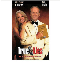 Conway, Memes, and 🤖: KELLY ANNE  CONWAY  Tru  AKA  www.kevinkarstens.  SEAN  SPICER  GAs LIGHTING KellyAnne Spicer TrueLies AlternativeFacts Trump 🤡 and his Circus