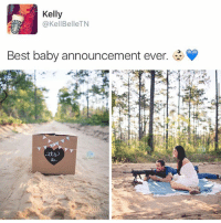 Fucking, Ironic, and Best: Kelly  @KellBelleTN  Best baby announcement ever. it's not about them being straightttttt fuck ( though this is so over the top and unnecessary but hey whatever it's not my fucking kid this is about SOMEONE SAID GENRE OF A BABY )
